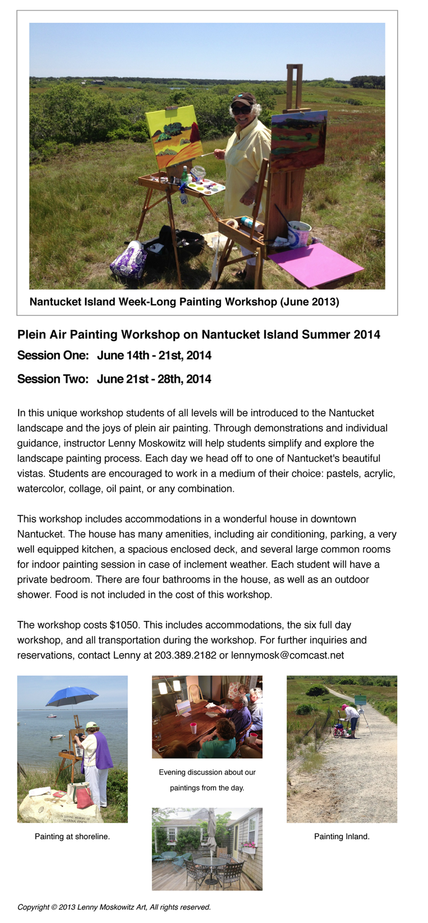 Nantucket Island Workshop-1